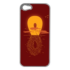 Endless Summer, Infinite Sun Apple iPhone 5 Case (Silver)