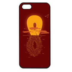 Endless Summer, Infinite Sun Apple Iphone 5 Seamless Case (black)