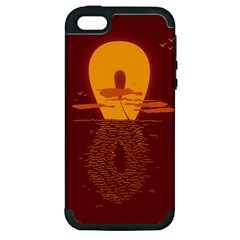 Endless Summer, Infinite Sun Apple Iphone 5 Hardshell Case (pc+silicone)