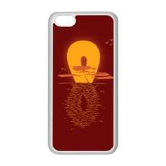Endless Summer, Infinite Sun Apple iPhone 5C Seamless Case (White)