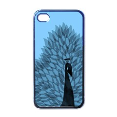 Flaunting Feathers Apple iPhone 4 Case (Black)