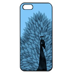 Flaunting Feathers Apple Iphone 5 Seamless Case (black)