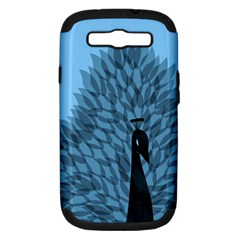 Flaunting Feathers Samsung Galaxy S Iii Hardshell Case (pc+silicone)