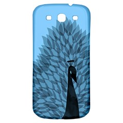 Flaunting Feathers Samsung Galaxy S3 S III Classic Hardshell Back Case