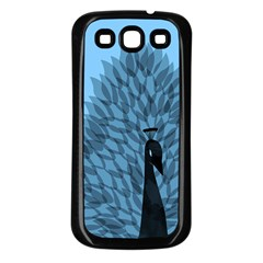 Flaunting Feathers Samsung Galaxy S3 Back Case (black)
