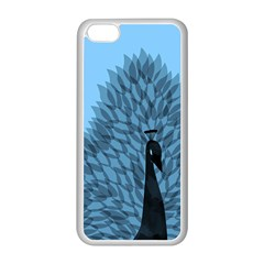Flaunting Feathers Apple iPhone 5C Seamless Case (White)