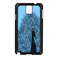 Flaunting Feathers Samsung Galaxy Note 3 N9005 Case (Black)