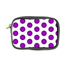 Purple And White Polka Dots Coin Purse