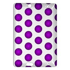 Purple And White Polka Dots Kindle Fire HD 7  (2nd Gen) Hardshell Case