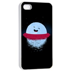 Midnight Swim Apple iPhone 4/4s Seamless Case (White)