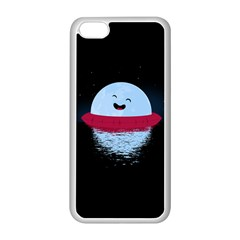 Midnight Swim Apple iPhone 5C Seamless Case (White)