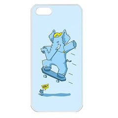 The Ollie Phant Apple Iphone 5 Seamless Case (white)