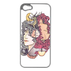 Kiss ! Apple Iphone 5 Case (silver)