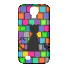 Cat Samsung Galaxy S4 Classic Hardshell Case (pc+silicone)