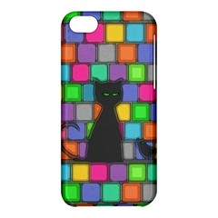 Cat Apple Iphone 5c Hardshell Case