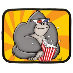 It s Movie Time Netbook Case (Large)