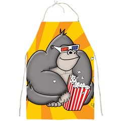 It s Movie Time Full Print Apron