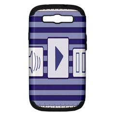 Music Time  Samsung Galaxy S Iii Hardshell Case (pc+silicone)