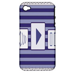 Music time  Apple iPhone 4/4S Hardshell Case (PC+Silicone)