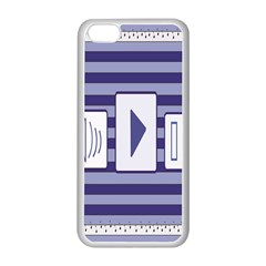 Music time  Apple iPhone 5C Seamless Case (White)