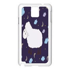 Time to dream Samsung Galaxy Note 3 N9005 Case (White)