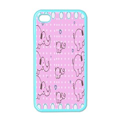 Baby Elephant  Apple Iphone 4 Case (color)