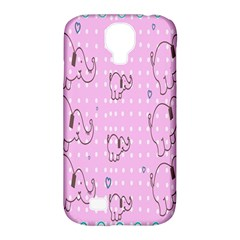 Baby Elephant  Samsung Galaxy S4 Classic Hardshell Case (PC+Silicone)