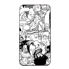 Faces in Places Apple iPhone 4/4s Seamless Case (Black)