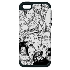 Faces In Places Apple Iphone 5 Hardshell Case (pc+silicone)
