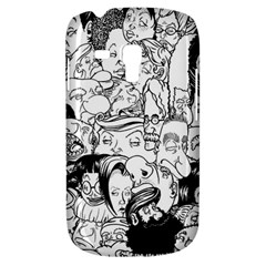 Faces In Places Samsung Galaxy S3 Mini I8190 Hardshell Case