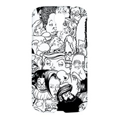 Faces In Places Samsung Galaxy S4 I9500/i9505 Hardshell Case