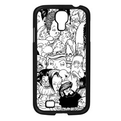 Faces in Places Samsung Galaxy S4 I9500/ I9505 Case (Black)
