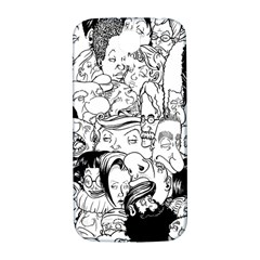 Faces in Places Samsung Galaxy S4 I9500/I9505  Hardshell Back Case