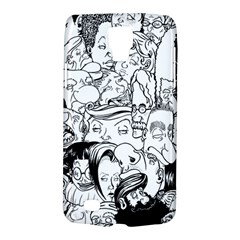 Faces in Places Samsung Galaxy S4 Active (I9295) Hardshell Case