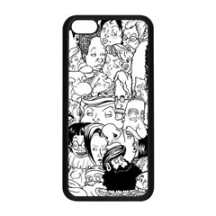 Faces in Places Apple iPhone 5C Seamless Case (Black)