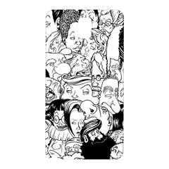 Faces in Places Samsung Galaxy Note 3 N9005 Hardshell Back Case