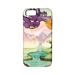 The Wee Purple Dragon Apple Iphone 5 Classic Hardshell Case (pc+silicone)