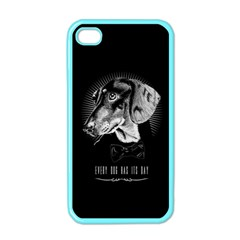 Every Dog Has Its Day Apple Iphone 4 Case (color)