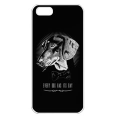 every dog has its day Apple iPhone 5 Seamless Case (White)
