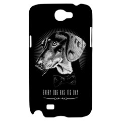 every dog has its day Samsung Galaxy Note 2 Hardshell Case