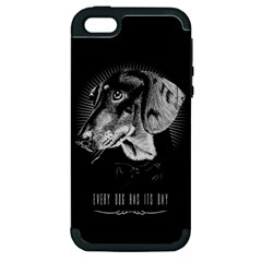 Every Dog Has Its Day Apple Iphone 5 Hardshell Case (pc+silicone)