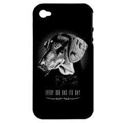 Every Dog Has Its Day Apple Iphone 4/4s Hardshell Case (pc+silicone)