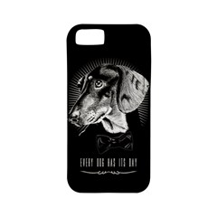 Every Dog Has Its Day Apple Iphone 5 Classic Hardshell Case (pc+silicone)