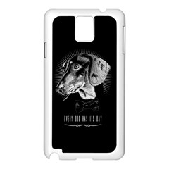every dog has its day Samsung Galaxy Note 3 N9005 Case (White)