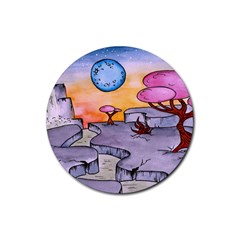 Elsewhere1 Drink Coasters 4 Pack (Round)