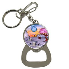 Elsewhere Bottle Opener Key Chain
