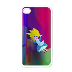 Alice Apple Iphone 4 Case (white)