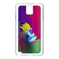 Alice Samsung Galaxy Note 3 N9005 Case (white)