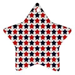 Patriot Stars Star Ornament