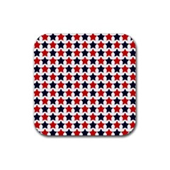 Patriot Stars Drink Coaster (square)